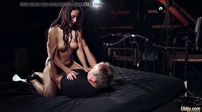 Step sister, Old dad, Sex with sister, Young sister, Young man, Teen old man