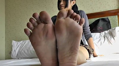 Asian feet, Young foot