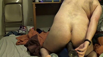 Bear, Huge, Ebony dildo, Huge cock