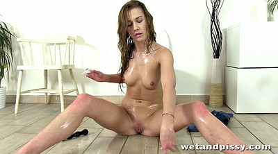 Squirting, Shower, Dildo squirt, Lie