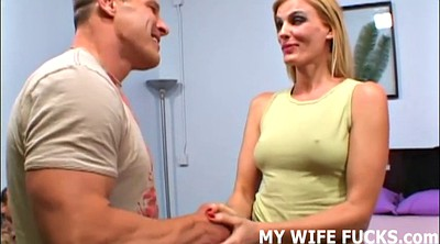Wife cuckold, Wife watches