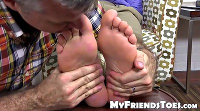 Gay feet, Young gay, Stop, Gag, Old massage, Gay old young
