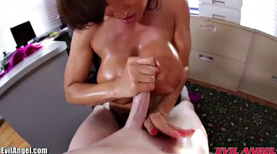 Lisa ann, Secretary, Milf anne, Oil milf, Secretary milf, Titty