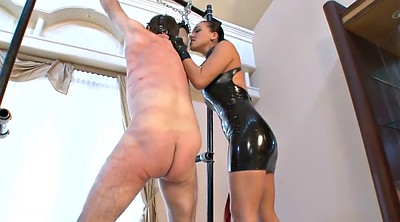 Bdsm slave, Mistress t, Whip, Whipping, Latex femdom, Mistress whipping