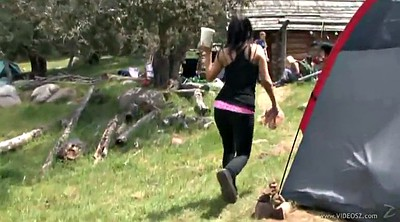 Camping, Reality show, Hot body