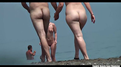 Beach, Nudist, Nudist beach, Beach voyeur