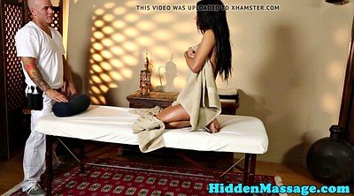 Hidden massage, Hidden cam, Voyeur massage
