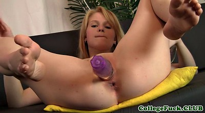 Teen dildo, Stocking dildo