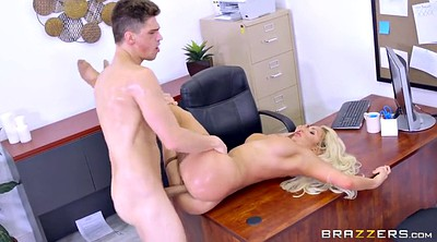 Brazzers, Clit, Tits at work