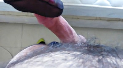 Footjob, Nylon feet, Nylon fetish