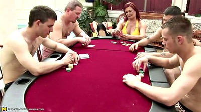 Mature gangbang, Group piss