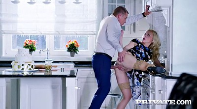 Mature orgasm, Mature lick, Mature kitchen