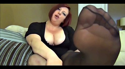 Stocking foot, Stockings foot, Stockings bbw, Bbw foot