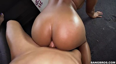 Blacked, Car, Ebony anal
