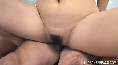 Gangbang asian, Cum in, Bathroom