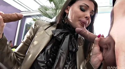 Aletta ocean, Double penetration, Aletta, Two men