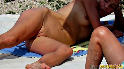 Beach, Nudist, Nudist beach, Milf amateur, Beach voyeur