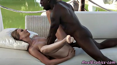 Interracial anal, Black ass, Couple anal