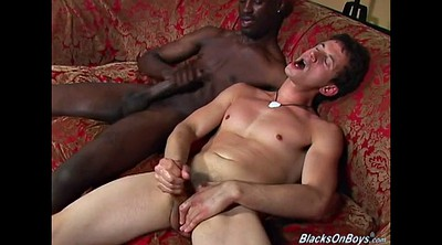 White, First black cock