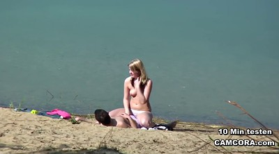 Outdoor teen, Beach fucking
