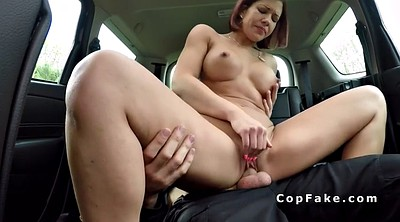 Car, Cops, Nudity, Cops bang, Car blowjob