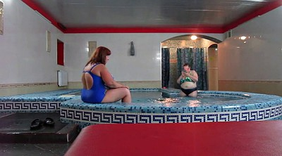 Sauna, Russian mature, Pool, Russian bbw, Mature russian, Bbw matures