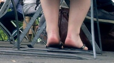 German, Sexy feet, Young feet, Young small, Candid feet