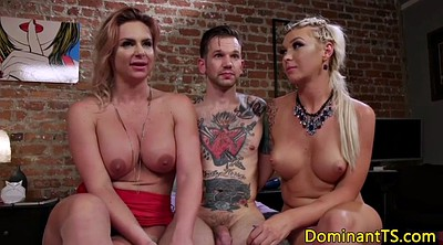 Shemale threesome, Bang, Shemales threesome, Trios