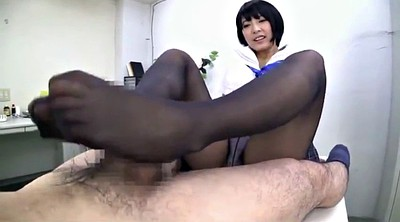 Foot, Nylon foot, Black foot, Foot job, Asian blacked
