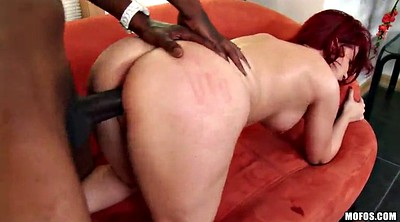 Big anal, Interracial anal