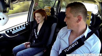 Czech car, Czech taxi, Big butt, Wonderful, Taxi sex