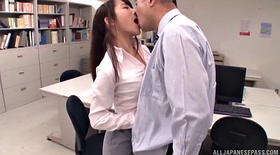 Japanese office, Long hair japanese, Affair
