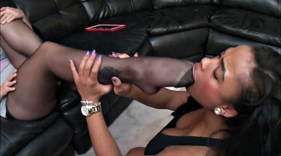 Toes, Nylon feet, Nylon foot, Black foot