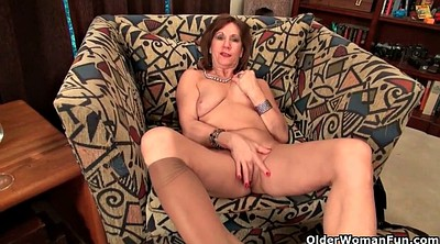 Nylon, Granny, Mature, Nylon milf
