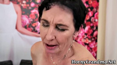 Granny hd, Old cum