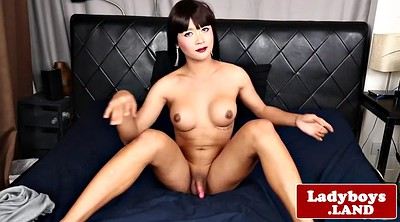Ladyboy, Asian ladyboy, Asian shemale, Solo big tits, Big butt solo, Asian shemale solo