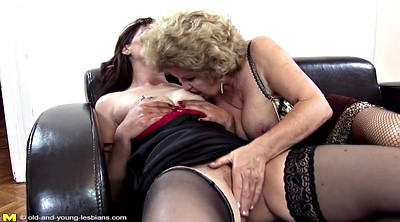 Pissing, Piss, Daughter, Old and young, Hairy granny, Lesbian pissing