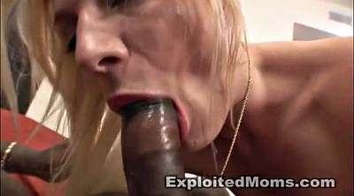 Anal mature, Anal mom, Exploited, Blonde mom, Big tits mom