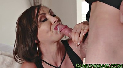 Cum in mouth, Hot stepmom