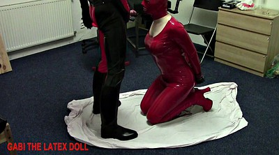 Latex, Latex fuck, Sex doll, Rubber, Neck, Latex toys