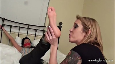 Lesbian feet worship, Foot fetish worship