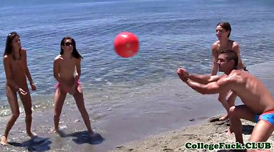 Beach, College, College party