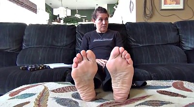 Mature feet, Sweaty foot