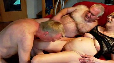 Swingers, Triple, Mature creampie