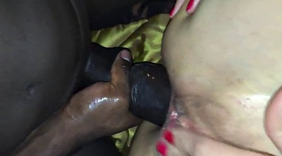 Gaping pussy, Monster anal