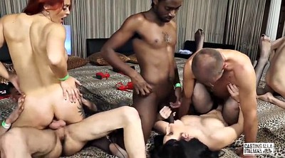 Italian, Casting anal, Anal casting