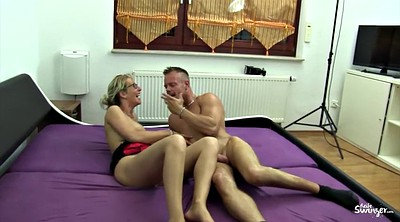Mature swingers, German big tits