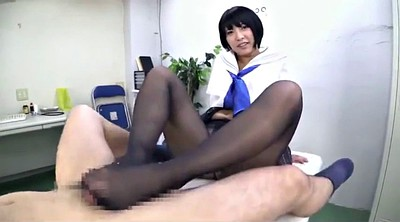Foot job, Asian black, Black foot