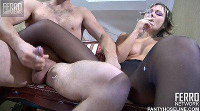 Smoking blowjob, Smoke, Smoking fetish, Pantyhose fuck, Smoking fuck, Nylon fuck