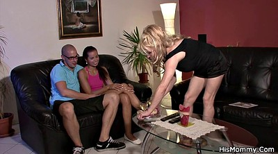 Mature lesbian, Lesbian milf, Mom teach, Old mom